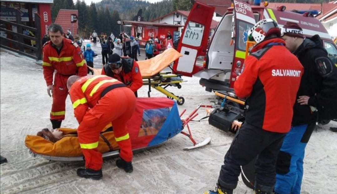 43 de accidentați pe pârtiile din Poiana Brașov, în primele 10 zile ale sezonului de schi – Biz Brasov