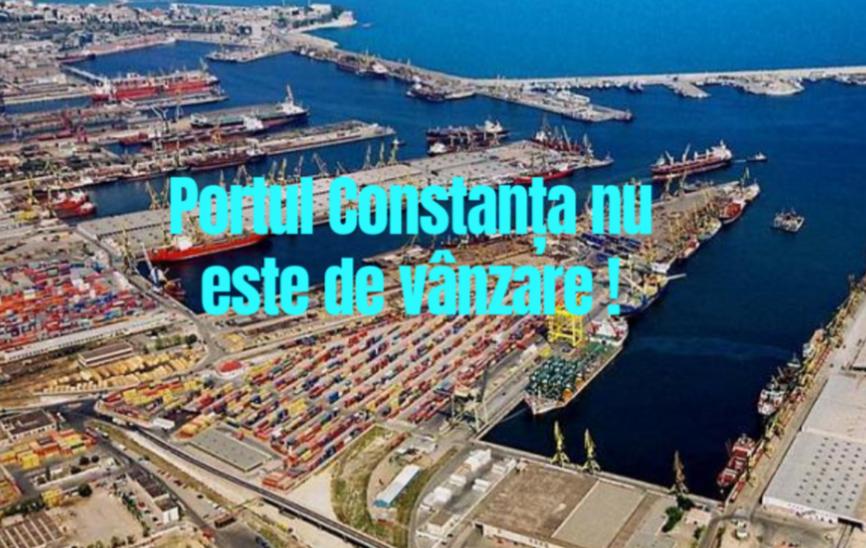 Protest împotriva vânzari Portului Constanța, sâmbătă, în fața Prefecturii . Co-președinții AUR și-au anunțat participarea