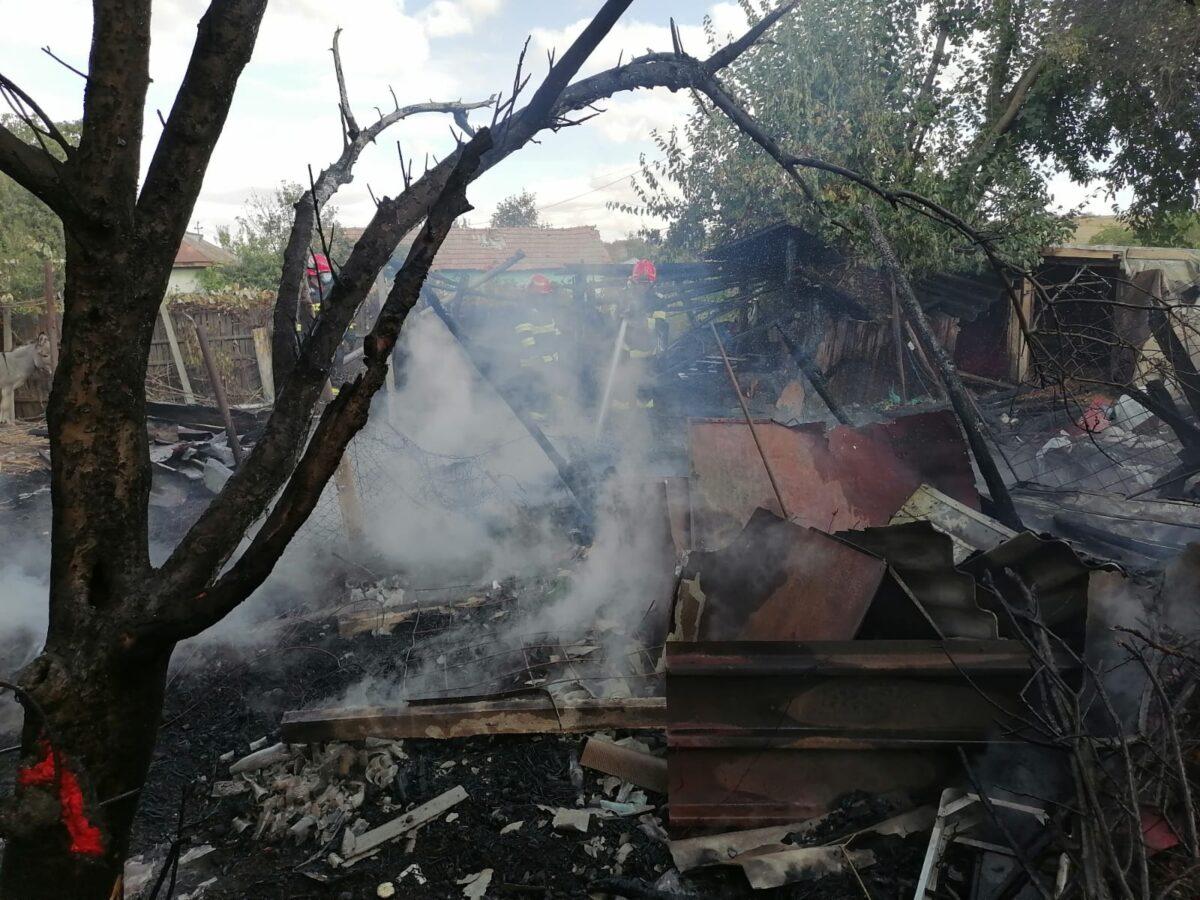 Olt: Incendiu într-o gospodărie din Ipotești – GAZETA de SUD
