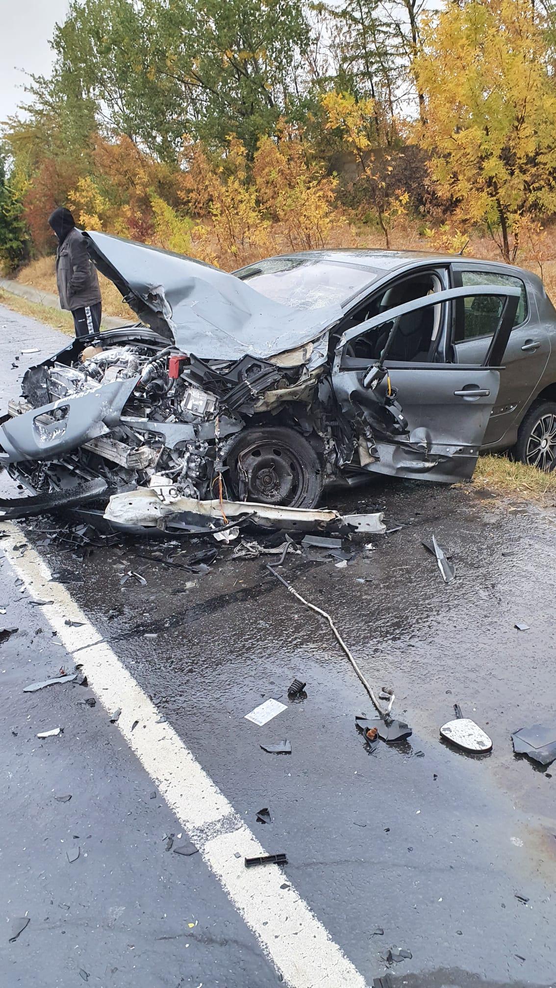 Doi răniți în urma unui accident pe Centura de Nord a Craiovei