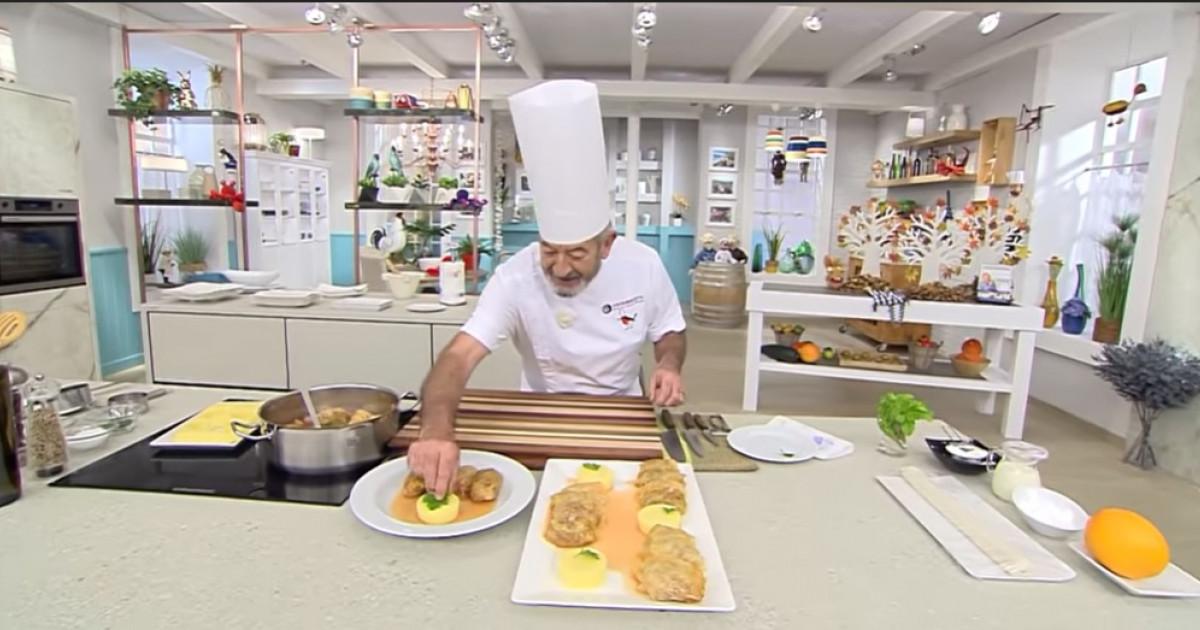 Sarmalele fac carieră în Spania. Au ajuns în emisiunea TV a unuia dintre cei mai cunoscuți bucătari: Greu de făcut, dar sunt delicioase