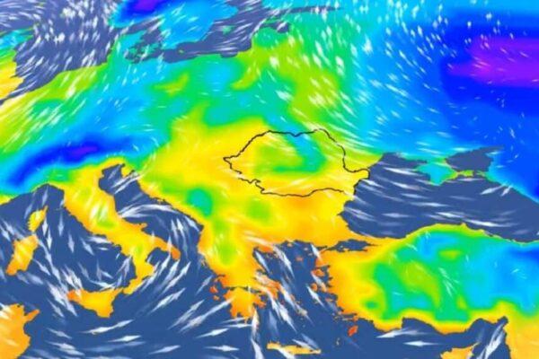 Administrația Națională de Meteorologie (ANM) a informat că un ciclon mediteranean va lovi România