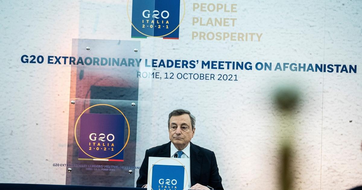 G20 va discuta cu talibanii pentru distribuirea ajutoarelor umanitare, dar nu va recunoaște politic regimul de la Kabul
