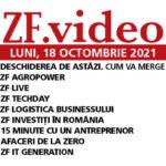 Emisiunile zilei de luni, 18 octombrie 2021